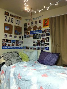 That's kind of the idea I want my dorm wall to have...inspirational quotes!
