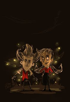 #Dont_Starve #Willow #Wilson