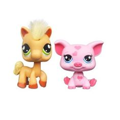 Littlest Pet Shop Favorite Pets- Horse and Pig