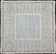 pulled thread work  also called drawn fabric, pulled thread embroidery, ajour arbeit. In this kind no fabric threads are removed. Stitches are pulled with strong tension, and this creates a pattern of holes, different for each stitch.