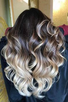 27 Fabulous Brown Ombre Hair Thinking about getting brown ombre hair color? This deliberate color graduation looks super feminine and sexy. Check out trendy color ideas. Brown To Blonde Ombre, Caramel Hair, Ombre Hair Color, Hair Colors, Balayage Hair, Hair Trends, Straight Hairstyles, Hairstyles Men, Wedding Hairstyles