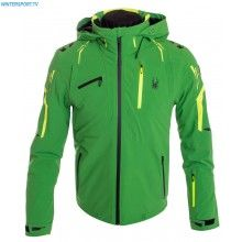 Spyder Men Monterosa Jacket – Blade Bryte Yellow Black