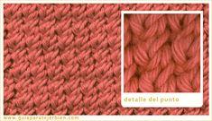 Knitting Stitch Patterns, or combinations of knitting stitches, are a wonderful way to expand your knitting skills. See Knitting Terms an. Knitting Terms, Baby Knitting Patterns, Knitting Stitches, Knitting Projects, Stitch Patterns, Crochet Baby, Knit Crochet, Weaving, Cross Stitch