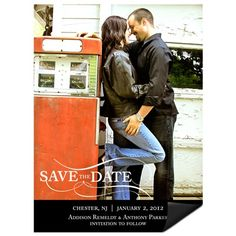 Save the Date Photo Magnets -- As the Wind Blows #peartreegreetings #weddingideas #savethedatemagnets