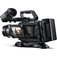 Introducing URSA Mini Pro, a professional digital film camera that combines the incredible image quality of URSA Mini with the features and controls of a t Digital Cinema, Digital Film, Cinema Camera, Film Camera, Sony Camera, Latest Camera, Audio, Cracked Screen, Phantom Power
