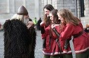 """26.04.14 Cashel Library, Friar Street. 11am, 2pm & 3pm As part of the """"To Crown A King – Brian Boru Millennium Celebrations Festival"""", Cashel Library will host Irish History Live with Michael Moylan on Saturday the 26th of April. This is an interactive history show  These show suitable for children aged 8+. Places are limited, so booking is essential. To book your place, contact Cashel Library on 062 63825. Brian Boru, Festivals, Celebrations, Irish, Ireland, Crown, King, Events, History"""