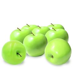 8 Pcs Foam Artificial Lifelike Simulation Solid Apple Model Fake Fruit for Home Decoration Red: Amazon.co.uk: Kitchen &…