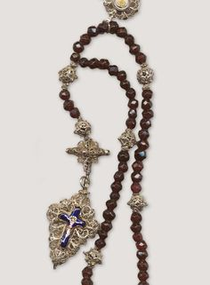 The Rosary: A timeless collectible - 15th Century Bavarian Filigree and garnet Rosary