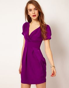 pretty color, prob more for dinner though...A Wear Tulip Dress