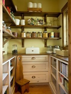 Walk In Pantry Ideas . top 20 Walk In Pantry Ideas . 25 Great Pantry Design Ideas for Your Home Kitchen Pantry Design, New Kitchen, Kitchen Storage, Kitchen Dining, Cookbook Storage, Food Storage, Kitchen Pantries, Kitchen Ideas, Kitchen Photos