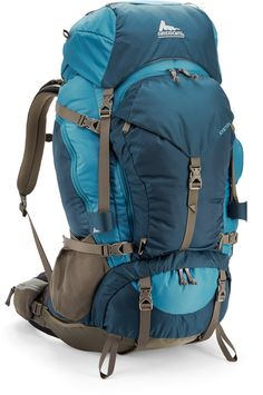 Gregory Deva 60 Pack - Women's. Lots of great reviews. Lots of zippers so it can function as a top loading pack, but you can also access your stuff from the front or even the bottom.