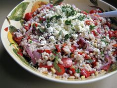 eat me, delicious: Greek Barley Salad