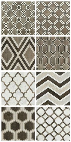 Walker Zanger Sterling Row Tile Collection - fireplace surround.... or Master bathroom floor???? Decisions.... decisions! (NOT the chevron... so over-used already!)