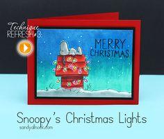 Sandy Allnock - Snoopy's Christmas Lights