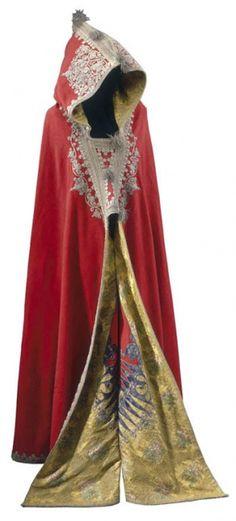 Napoleon's Egyptian-style cloak or burnous