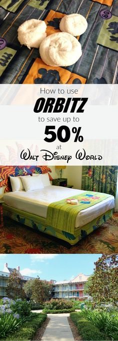 Save up to 50% on Disney World Resort hotels when you use promo codes with Disney discounts on Orbitz! This post walks you through how to save on hotels at Disney with tips and tricks for saving the most money using Orbitz.