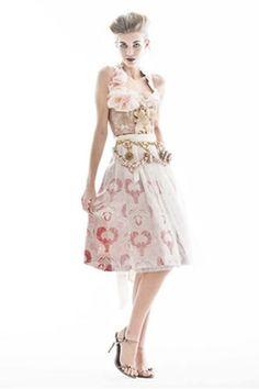 Ophelia Blaimer Couture Dirndl 2011 #Tracht #DesignerDirndl #München