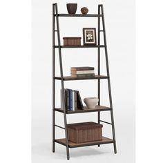 Storage for Record player and records Black Furniture, Shabby Chic Furniture, Ladder Bookshelf, Loft Design, Shelf Design, Wood Shelves, Interior, Record Holder, Record Player