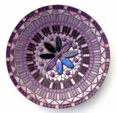 Mozaiekpakket 1 Schaal Flower paars-Roze