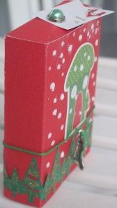 Cajita navideña por @Carmen Anastasio Ramirez para @Up