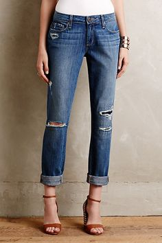 Paige Jimmy Jimmy Jeans #anthropologie