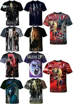 New 3D T-Shirt Men Women Casual All Size S 5XL Salems Lott Shattered To  Pieces M  fashion  clothing  shoes  accessories  unisexclothingshoesaccs ... 7d6e597b6