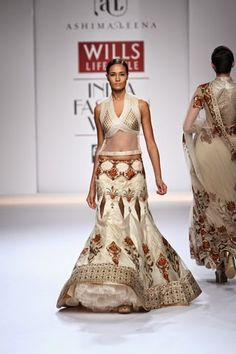 The collections on Day 2 of Wills Lifestyle Fashion Week Autumn/Winter 2014 feature Indian ethnic wear in different cuts and drapes. As you'...