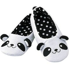 Panda slippers.