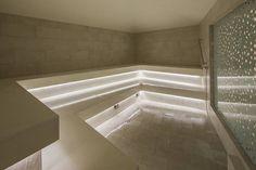 Resultado de imagen para steam bath Steam Bath, Meditation Rooms, Spa, Alcove, Bathtub, Relax, Bathroom, Beauty, Room