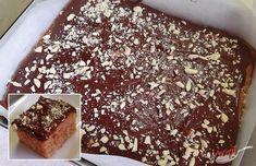 Šťavnatý koláč z hrnčeka, ktorý si zamilujete. Je šťavnatý vďaka jablkám, sladký vďaka čokoládovej poleve a chutný vďaka všetkým skombinovaným surovinám. Autor: Jaja Sweet Cakes, Thing 1, Tiramisu, Cooking Recipes, Sweets, Ethnic Recipes, Food, Pastries, Basket
