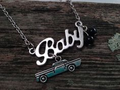 SUPERNATURAL inspired Baby Impala necklace (The store is on break and will be back in December)
