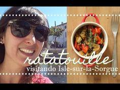 Como fazer ratatouille + passeio em uma típica feira provençal  |  Espec...