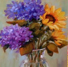 """Daily Paintworks - """"Thought Process"""" - Original Fine Art for Sale - © Libby Anderson"""