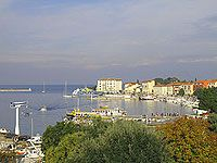 Holidays to the picturesque fishing village of Porec