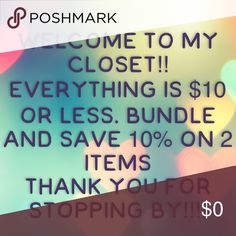 Spotted while shopping on Poshmark: Items are marked as low as possible…