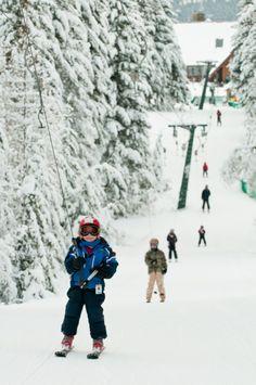 Fairmont Hot Springs Resort's Ski Hill is perfect for all ages #FairmontHotSpringsResort #skifhsr #fhsr #winter #ski #snowboard