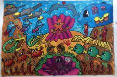 Fondo marino animado #animatedseaworld#