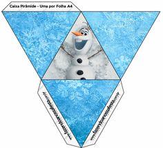 Frozen: Free Printable Party Boxes.