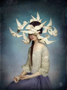 The Beginning Canvas Print by Christian Schloe | Society6
