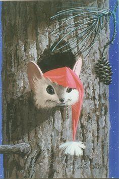 Ralph Hulett Christmas card 26