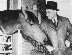 """You don't throw a whole life away just because he's banged up a little bit"".  Tom Smith, Seabiscuit's trainer"