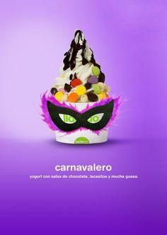 Nuestro llaollao más carnavalero!