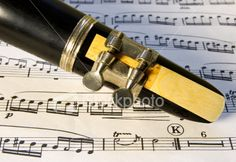 Clarinet Reed & Music
