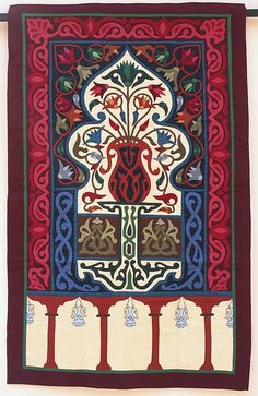 Egyptian Applique Khayameya   size 100 *160 cm  you can order by send e-mail to esamyasin@gmail.com