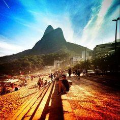 Praia do Leblon - Rio de Janeiro - Brasil