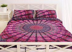 Rose Mandala tapisserie couette feuille Kit de par ZINNIACOLLECTIVE