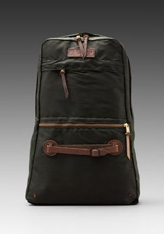 WHEELMEN & CO. Scout Daypack in Military Green -