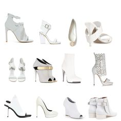 """White Shoes"" by eddiz on Polyvore"