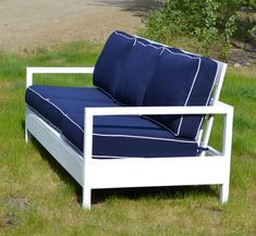 Diy Outdoor Furniture Elegant Ana White Build A Simple White Outdoor sofa Of 17 Awesome Diy Outdoor Furniture - 17 Awesome Diy Outdoor Furniture Pallet Patio Furniture, Outdoor Furniture Plans, Diy Furniture Projects, Diy Projects, Pallet Sofa, Furniture Stores, Woodworking Projects, White Furniture, Outdoor Projects