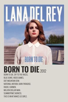 Alternative Minimalist Music Album Polaroid Poster - Born to Die by Lana Del Rey 2012 poster made by me Diy Poster, Poster Wall, Poster Prints, Room Posters, Minimalist Music, Minimalist Poster, Born To Die, One Direction Poster, Poster Minimalista